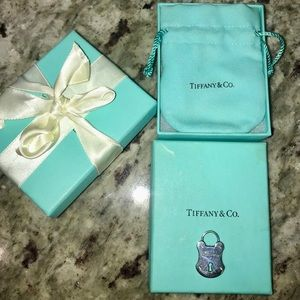 Tiffany's Large Diamond Rivet Charm Lock